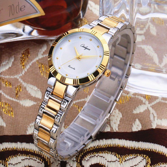 Ladies Watches Top Luxury Brand Wrist Watches For Women Stainless Steel Waterproof Quartz Watch Female Clock relogio 81018