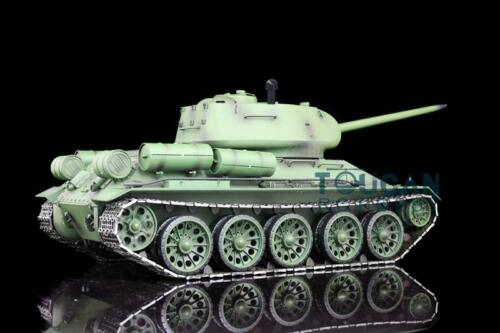 2.4G Henglong 1/16 Scale 6.0 Plastic Ver Soviet <font><b>T34</b></font>-85 RTR RC <font><b>Tank</b></font> <font><b>Model</b></font> 3909 TH12910 image