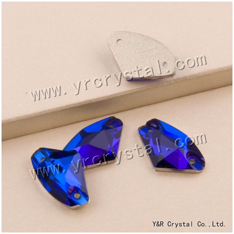 Capri Blue 3256 Galactic 9x14 12x19 16x27mm Crystal Rhinestones Crystals Flat back Sewing Rhinestones Stones Sew