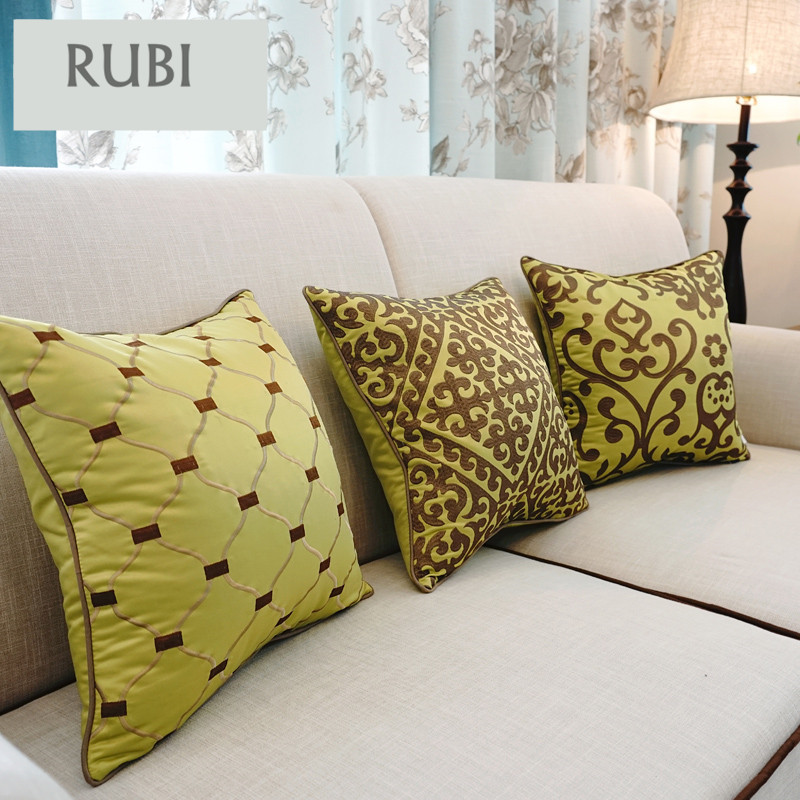 Exceptionnel European Embroidery Cushions Luxury Decorative Throw Pillows Without Inner  Sofa Home Decor Funda Cojines Decorativos Z5 In Cushion From Home U0026 Garden  On ...