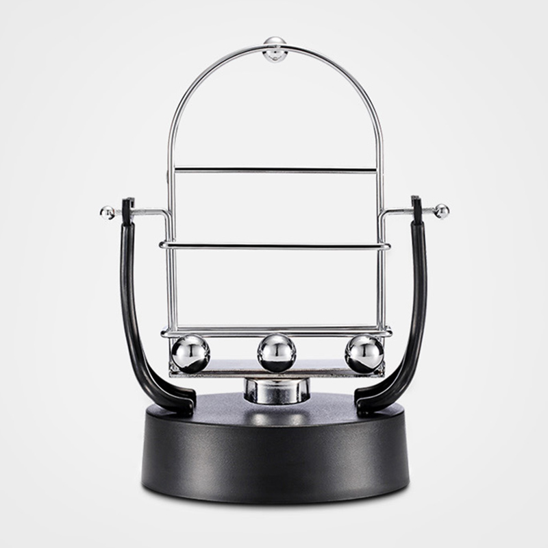 Mobile Phone Holders & Stands Mobile Phone Accessories Hearty Novel Revolving Swing Balance Ball Phone Holder Amount Perpetual Motion Physics Intelligent Automatic Pedometer Phone Holder