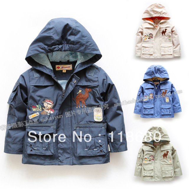 Free shipping new 2015 sprint autumn children outerwear baby clothing baby boy coat all-match top casual cool kids jackets coats