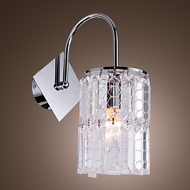 Lustre Wall Sconce Modern LED Crystal Wall Light Lamp For Home Lighting,Beside Lamp Free Shipping new design nature white 2heads 6w 30cm led modern crystal wall lights lamp sconce factory wholesale led lightings
