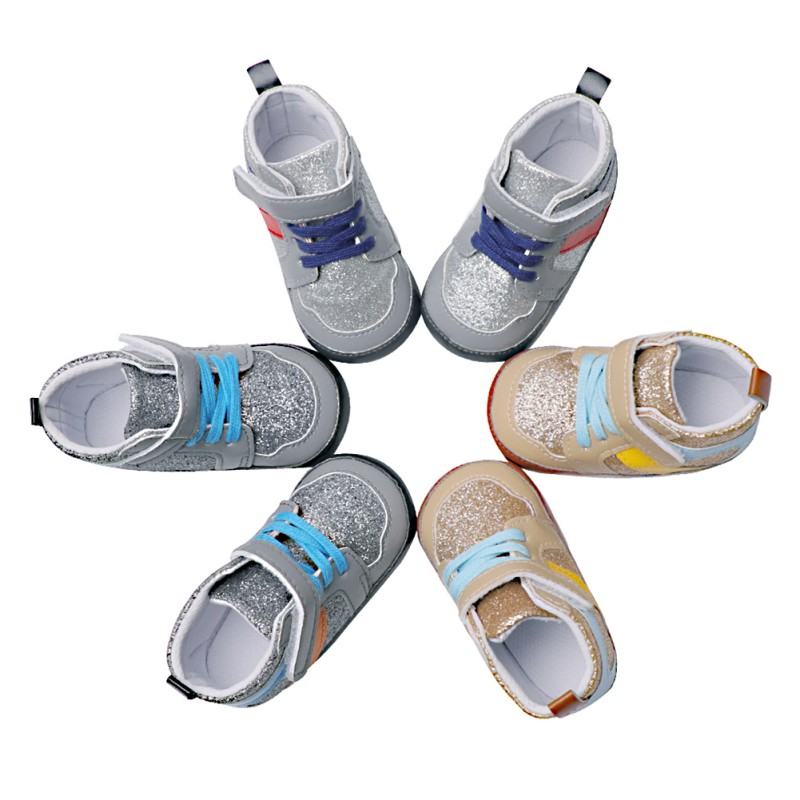 2018 New Baby First Walker Cotton Baby Boys Girls Shoes Infant Newborn Shoes Soft Sole Shoes