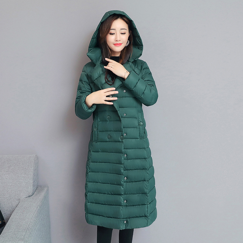 2019 New Winter Autumn Women's White Duck Down Hoodies Jackets Fashion Ladies Hooded Ski Coats S-XXL