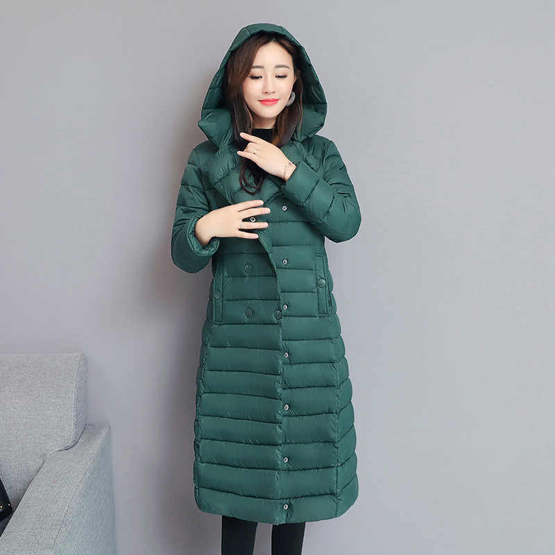 2019 New Winter Autumn Women's White Duck Down Hoodies Jackets Fashion Ladies Hooded Ski Coats S-XXL