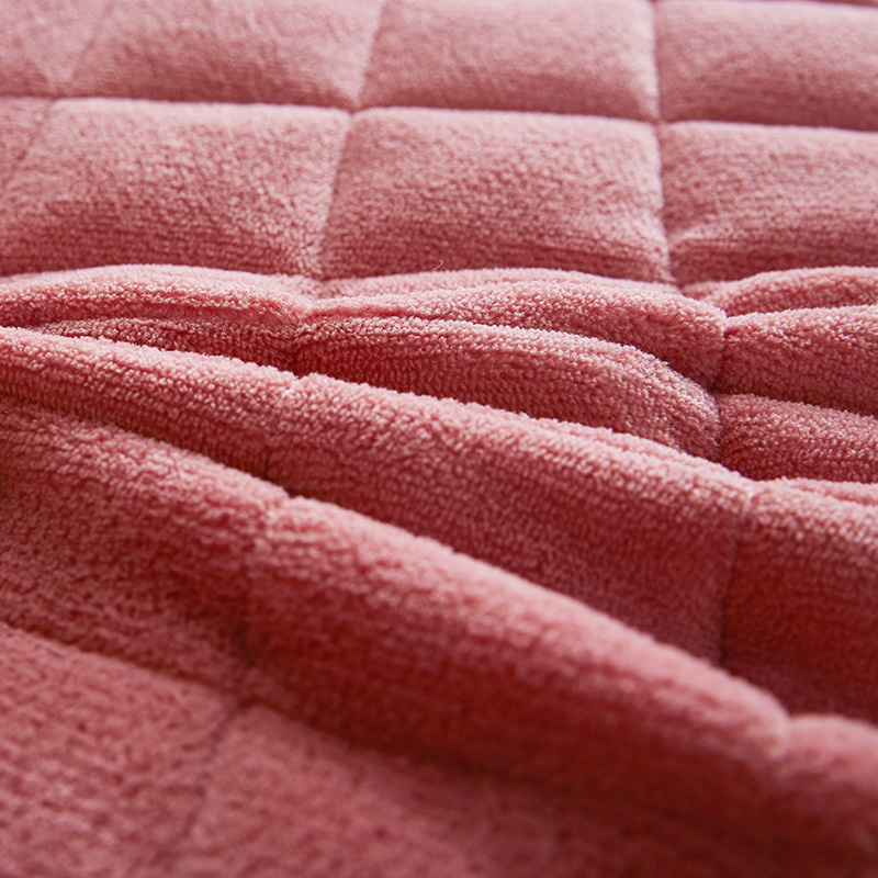 SongKAum Flannel 3D Breathable mesh Cotton Tatami Clipping Polyester Thick Warm Comfortable Mattress
