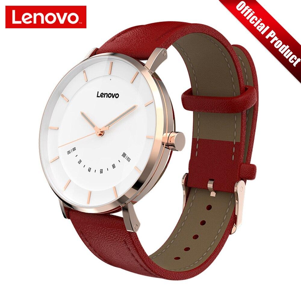 Lenovo Смарт-часы модные кварцевые часы S Intelligent Reminder 50 м водостойкие длинные Срок службы батареи спортивные Smartwatch