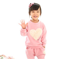 tcYct 2Piece/Spring Autumn Baby Girls Tracksuits Costume Cotton T shirt+Pants Kids Clothes Toddler Boys Clothing Sets