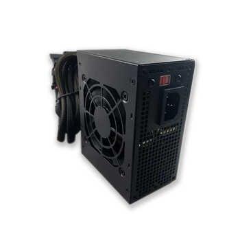 400W Mini Chassis PC Power Supply 110V ATX Power Supply PC Computer Power Supply Gaming PSU 12V Active PFC 24PIN MAX 500W DIY PC