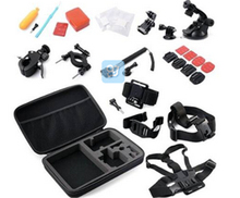 14 in 1 Go pro accessories package, Gopro combo accessories, Gopro accessories kit for SJ4000/XIAO YI SJCAM ACTION CAMERA GP-K26