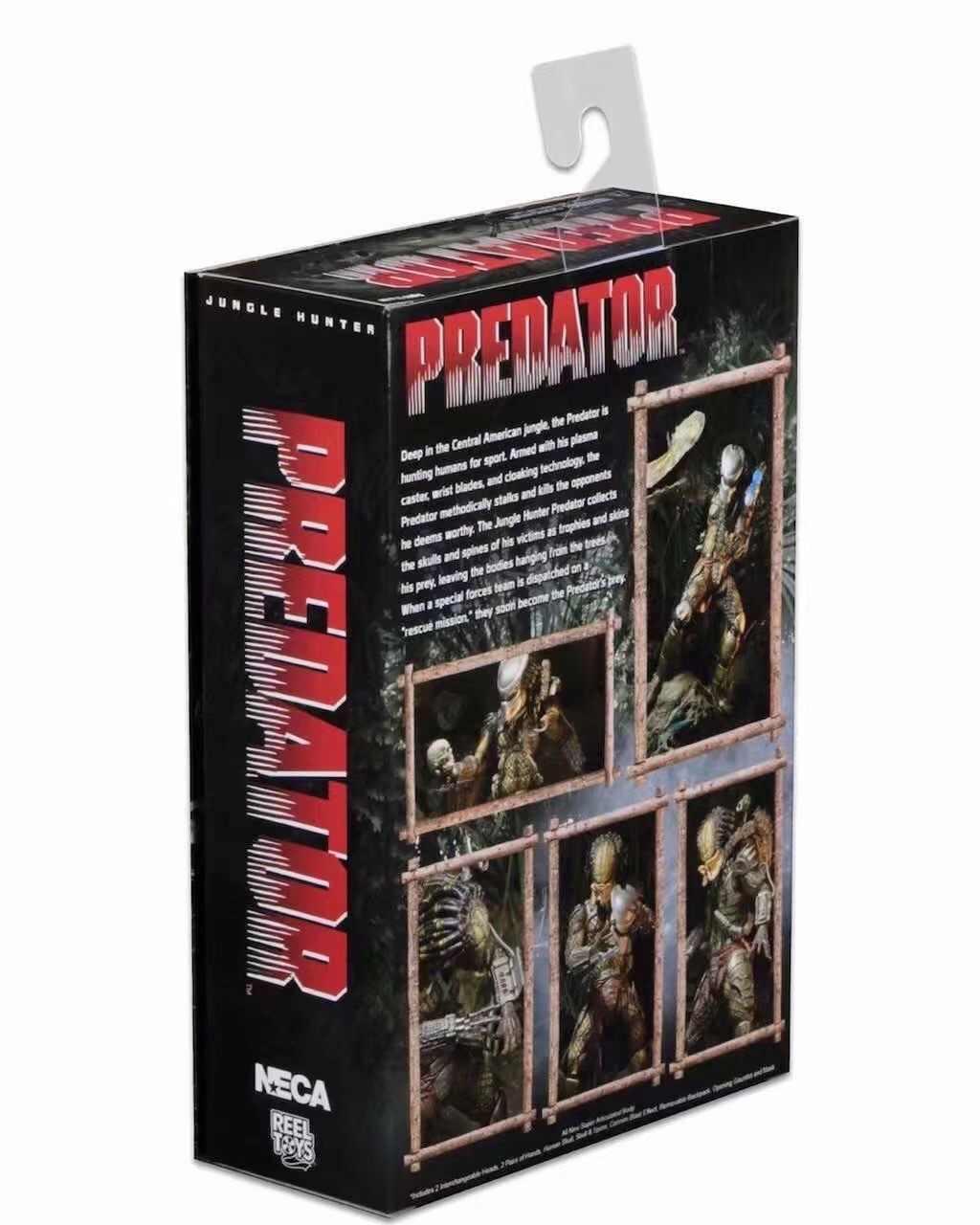 Neca AVP Alien Vs Predator Seri Alien Perjanjian Tua Predator Ular Pemburu Youngblood Predator Film Mainan Action Figure