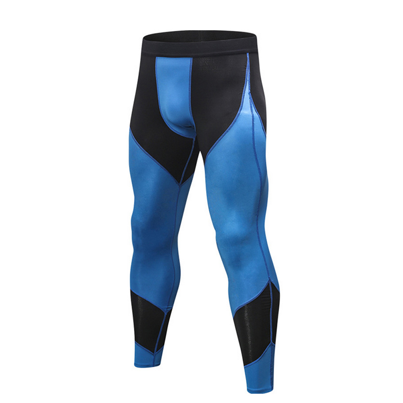 Tights Men Sporting Leggings Compression Sexy Long Pants Jogging Sweatpants Fitness Skinny Bodybuilding Gym Stretch Bottoms