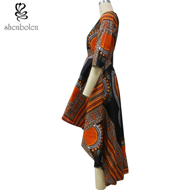 shenbolen 2018 African Fashion dresses for women African dashiki batik prints men's tops lady Couples Clothes for women and men 2