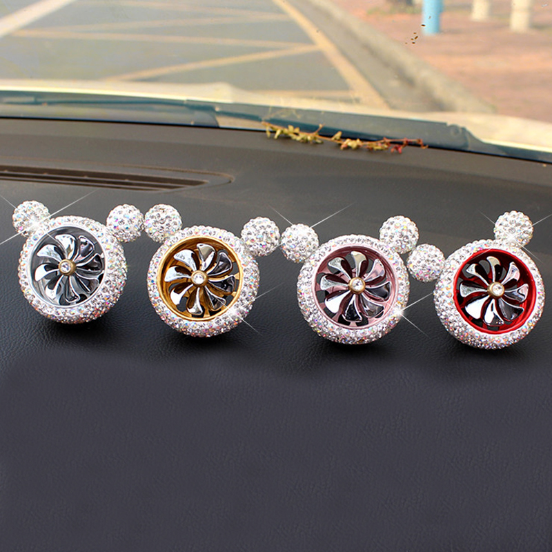 Image 2 - 1 Pcs Crystal Car Air Freshener Auto Outlet Perfume Vent Air Freshener Conditioning Clip Car Fragrance Diffuser Solid Perfume-in Air Freshener from Automobiles & Motorcycles
