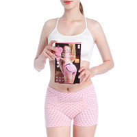 Japan Cogit Pink Buttock Beautifying Short with Auxiliary Correction Strip Correct Inappropriate Sleep at Nights Support pelvis