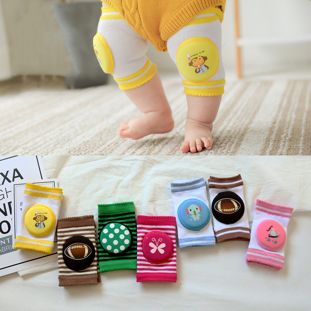 Baby Knee Pads Kid Safety Crawling Elbow Cushion Breathable Knee Support Protector For Newborn Playing Infant Leg Warmer Kneecap