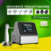 Portable Pneumatic Shock Wave Physiotherapy Equipment Therapy Shockwave For Weigh Loss Pain Relief Machine