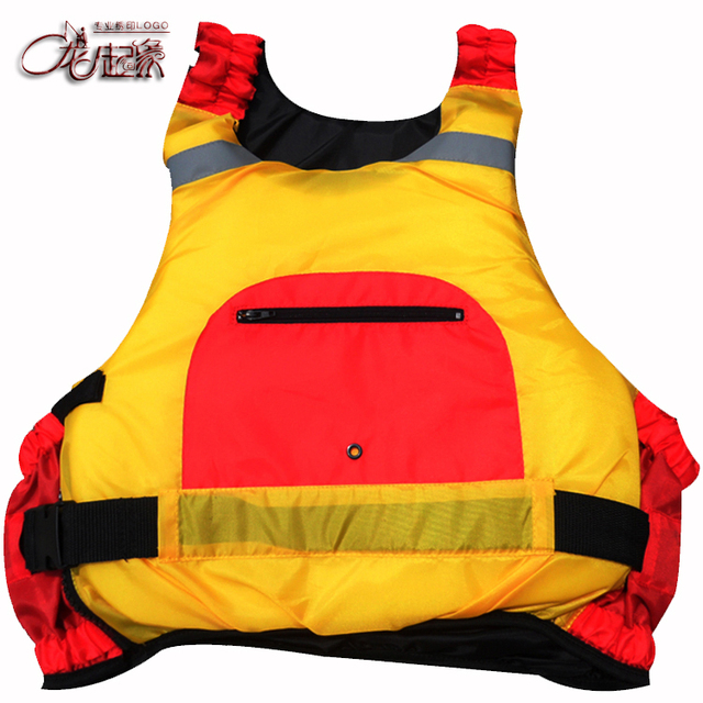 Customize lqx009 pirog professional inflatable boat red life vest