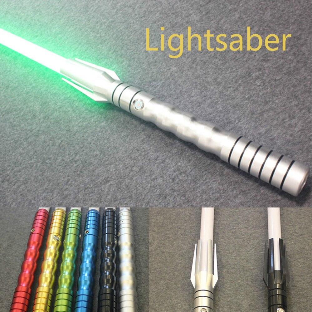 2018 Новый люк черный серии Skywalker Lightsaber синий Вейдер меч Косплэй игрушка Красный Зеленый Синий сабля свет малыша подарки игра