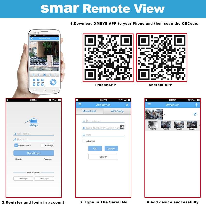 Smar CCTV AHD Camera SONY IMX323 Sensor 1080P Zoom 2.8-12mm Lens Surveillance 2.0mp Night Vision Security Video AHD Camera