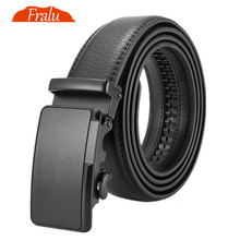 Mens Genuine Leather Belt High Quality Belts Men Luxury Strap Male Waistband Fashion Vintage Buckle for Jeans Long 110-150