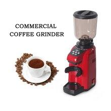 Red Commercial Coffee Grinder Machine 180W Electric automatic Coffee Bean Mills Coffee Machine EU/US Plug Coffee Tools цена и фото