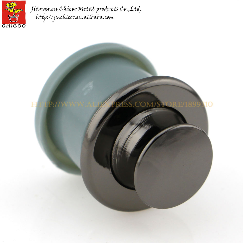 black colour Zinc alloy and ABS plastic push button knob furniture drawer Recessed Handle Flush pull handle black colour zinc alloy and abs plastic push button knob furniture drawer recessed handle flush pull handle