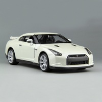 1:24 Simulation Diecast Alloy Sports Car Model Toys For Toyota Gtr With Steering Wheel Control Toy For Children Gift With Box