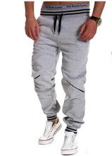 NEW 2016 Outdoor Summer Thin sportswear Baggy Draw string Jogger Jogging GYM Training Fitness Running Pants hombre