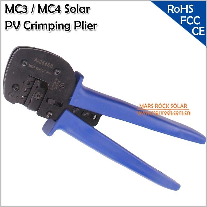 Солнечная обжимной Инструменты/Солнечные фотоэлектрические инструмент Наборы для 2.5-6.0mm2 MC3/MC4/TYCO Разъемы с обжимной /Резка/зачистки