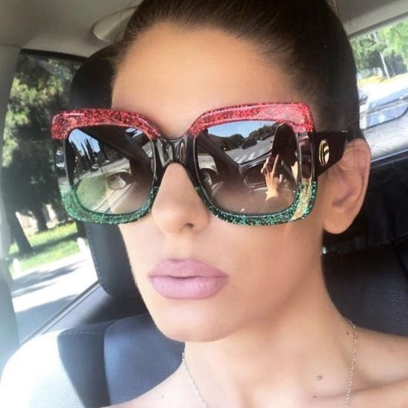 BELMON Sunglasses Women Fashion Brand Designer Oversized Sun Glasses Ladies UV400 For Female Big Frame Shades RS338