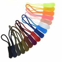 5 шт./упак. разноцветные шнур застежки-молнии с ремешком Lariat черного цвета для одежды аксессуары C0098(разные цвета