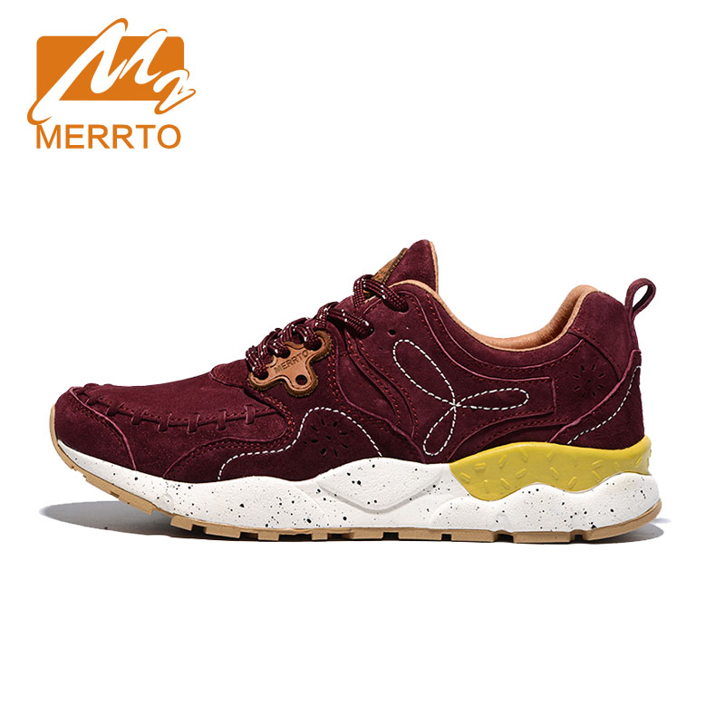 MERRTO Breathable Women Walking Shoes Lightweight Comfortable Brand Trainers Skid-proof Sneakers #MT18625 free shipping candy color women garden shoes breathable women beach shoes hsa21
