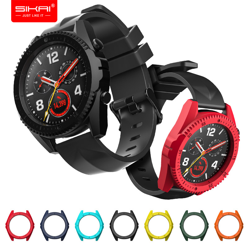Covers for huawei watch gt honor magic Colourful PC Shell protector Sport Accessories SIKAI smart watches casesCovers for huawei watch gt honor magic Colourful PC Shell protector Sport Accessories SIKAI smart watches cases