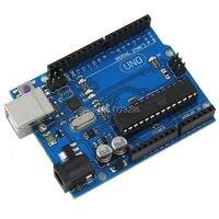 Free Shipping UNO R3 MEGA328P ATMEGA16U2 For Arduino Compatible With The Cable Development Board
