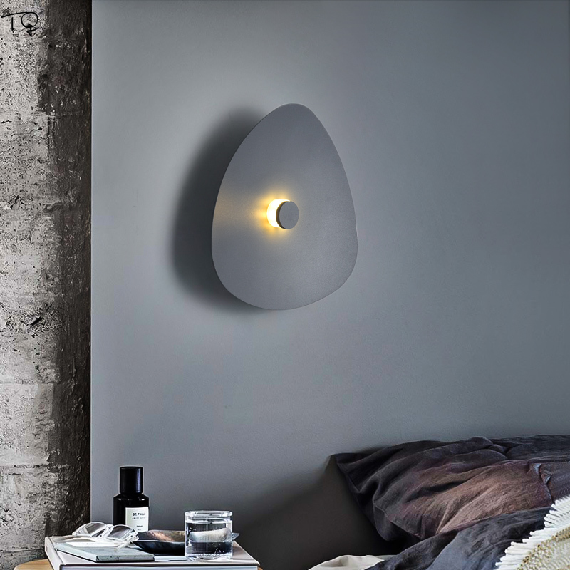 Led Indoor Wall Lamps Home Bedside Bedroom Living Room Stair Light Simple Creative Modern Lamp Nordic Design Decoration Salon in LED Indoor Wall Lamps from Lights Lighting