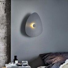 цена на Led Indoor Wall Lamps Home Bedside Bedroom Living Room Stair Light Simple Creative Modern Lamp Nordic Design Decoration Salon