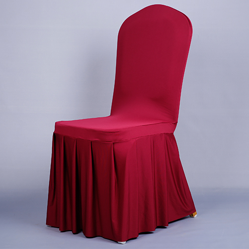 Pločaste suknje od elastične presvlake za stolice navlake za banket - Tekstil za kućanstvo - Foto 3