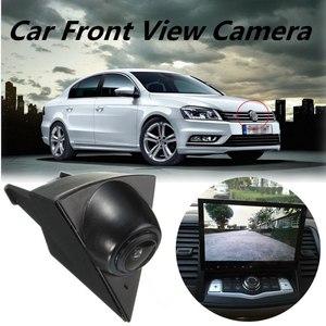 Image 2 - Waterproof CCD Car Front View Camera For Volkswagen Golf 5 Polo Passat B5 B6 Emblem Logo Auto Driving Dash Camera