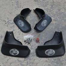 цена на Free Shipping High Quality ABS Plastics Automobile Fender Mudguards Mud Flaps For 2005-2009 Toyota CROWN