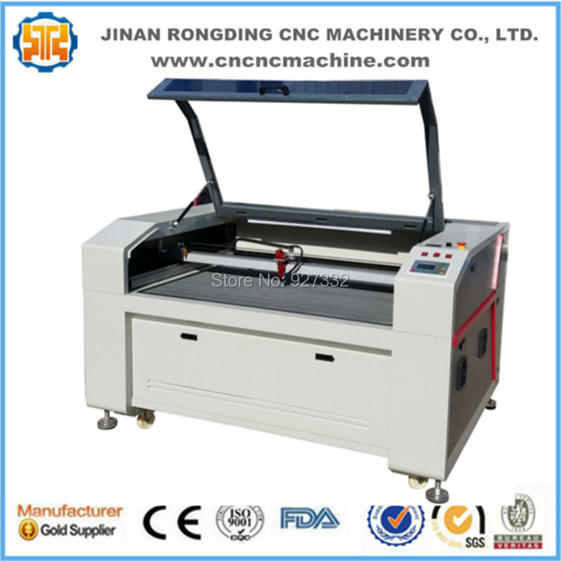 RDJ9060 Co2 laser cutting machine for nonmetal / Optional panasonic servo motor laser cutting machine economic professional 2d 9060 laser machine