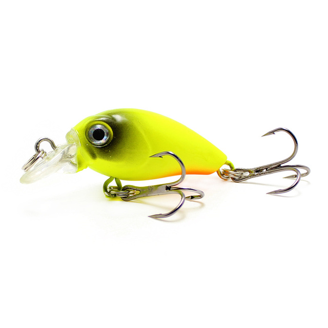 Yuewins Mini Crankbait Fishing Lure 45mm 4.1g Topwater Artificial Japan Hard Bait Minnow Swimbait Trout Bass Carp Fishing QA267