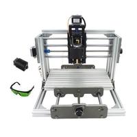 No Tax To Russia Mini CNC 2417 500mw Laser CNC Engraving Machine Pcb Milling Machine Diy