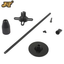 JMT Universal GPS Folding Antenna Mount Holder Metal for RC Quadcopter Multicopter Drone Color Black