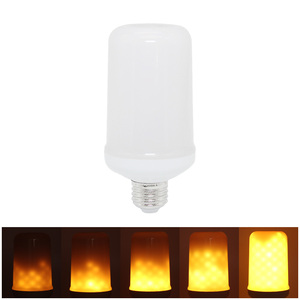 Image 4 - Ampoule LED Flame Effect Flickering Light Bulbs E27 220V 9W Lampara Room Lighting Corn Lamp Bulb Bombilla Lights Xiaomi Lampada