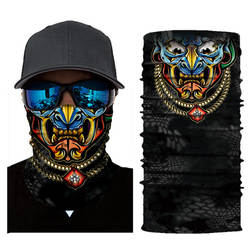 Новый Хэллоуин шарф маска фестиваль мотоциклетные лицо солнцезащитный экран маска Балаклава Вечерние Маски праздничный поставок