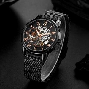 Image 2 - FORSINING Men Watch Top Luxury Brand Fashion Sports Mechanical Watches Mens Business Waterproof Wristwatch Relogio Masculino