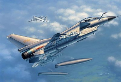 Trumpeter model 02842 1/48 PLAAF J-10S Vigorous Dragon plastic model kit цена