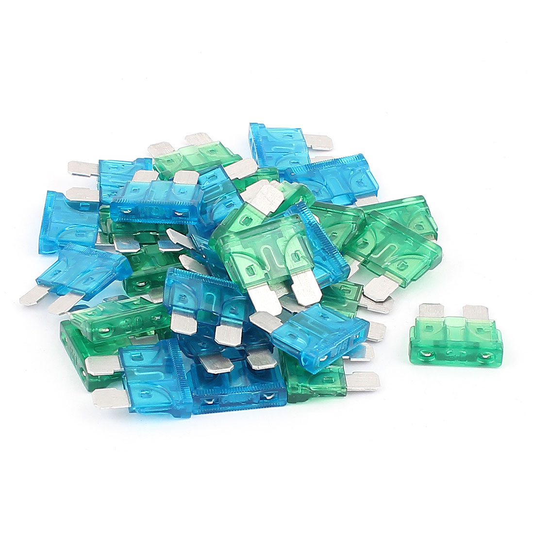 online get cheap water fuse box aliexpress com alibaba group Water In Fuse Box x autohaux 30pcs blue green 15a 30a atc ato mini blade fuse for car caravan vehicle water in fuse box
